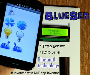 BlueSense - DIY Smart Room Automation Using Bluetooth