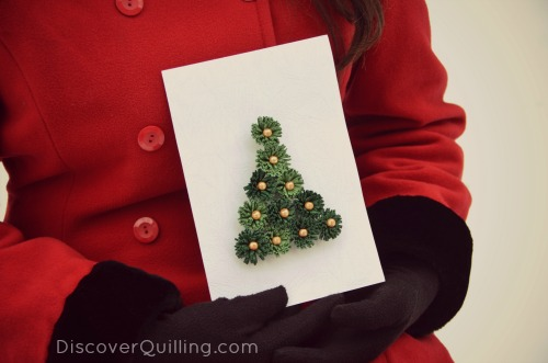 Picture of Quilled Christmas Card
