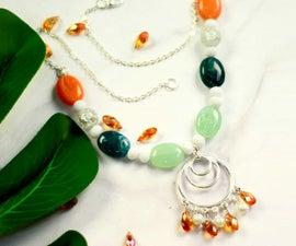 Beebeecraft Tutorials on Making Beaded Elegant Necklace