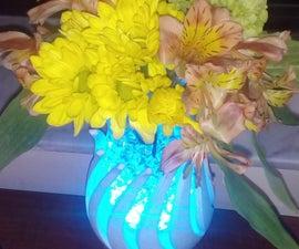 Customizable Kinetic Flower Vase