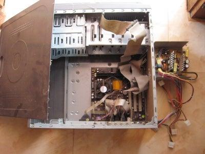Prepare the Desktop Computer Case