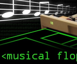 Floppy Disk Music with the LinkIt ONE