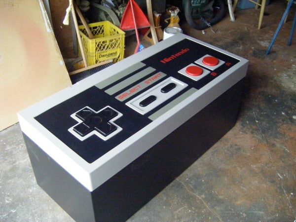 How-To : Giant NES Controller
