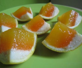 Candy Corn Slices