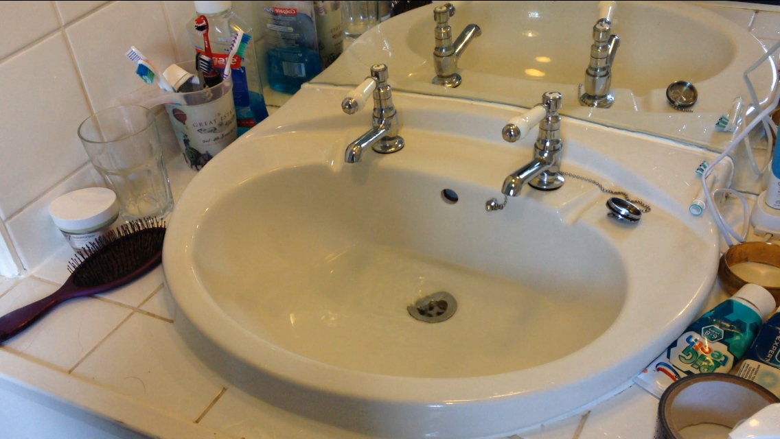 Picture of The Sink Is Unblocked!