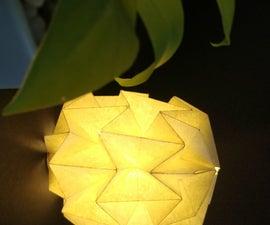 Origami Paper Lamp Shade