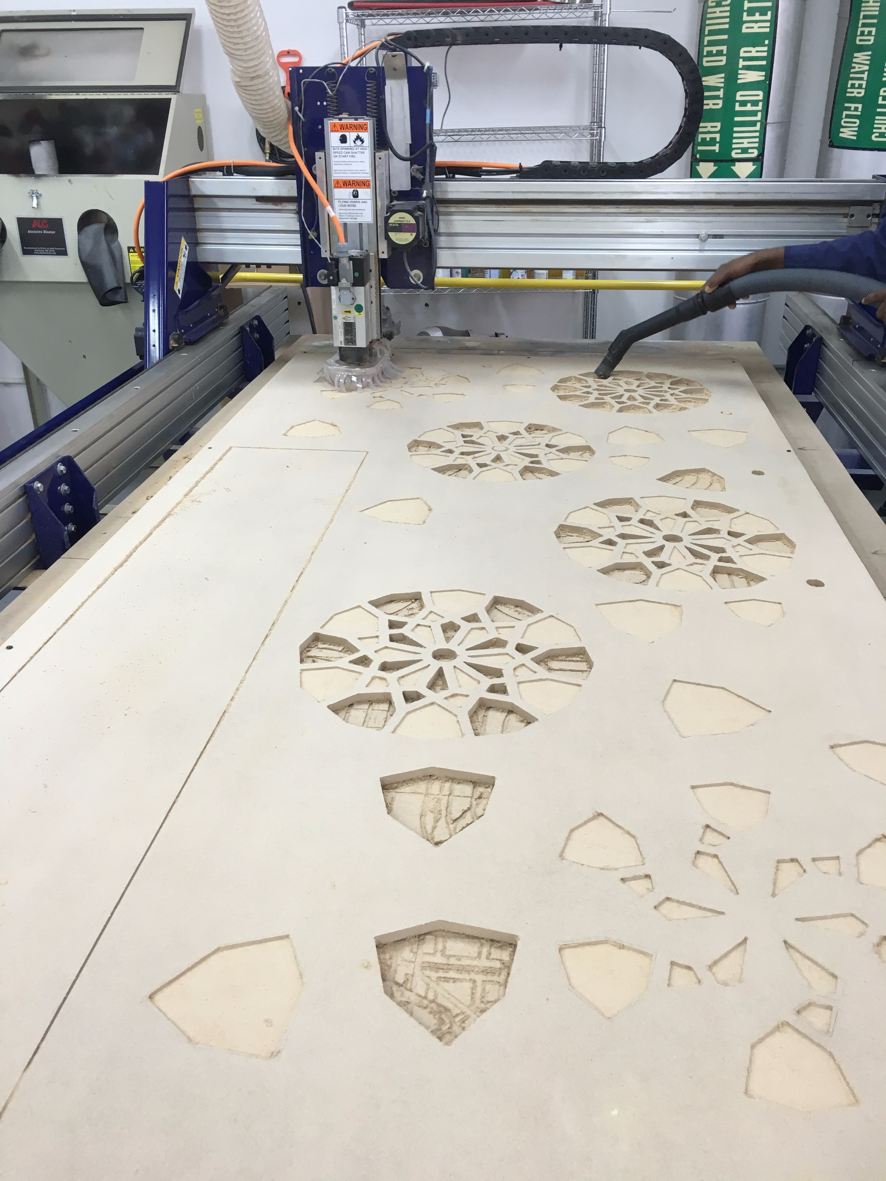 Picture of Cutting the Design