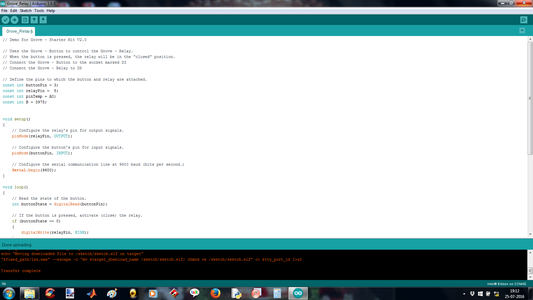 Arduino IDE C/C++ Program for Electrospinning System
