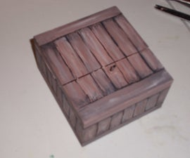 Custom Thin-walled Wood Boxes