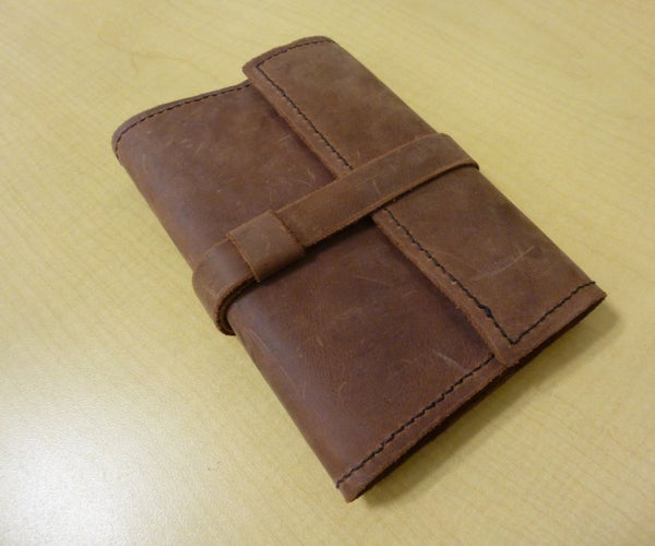 How To: Leather Bound Journal