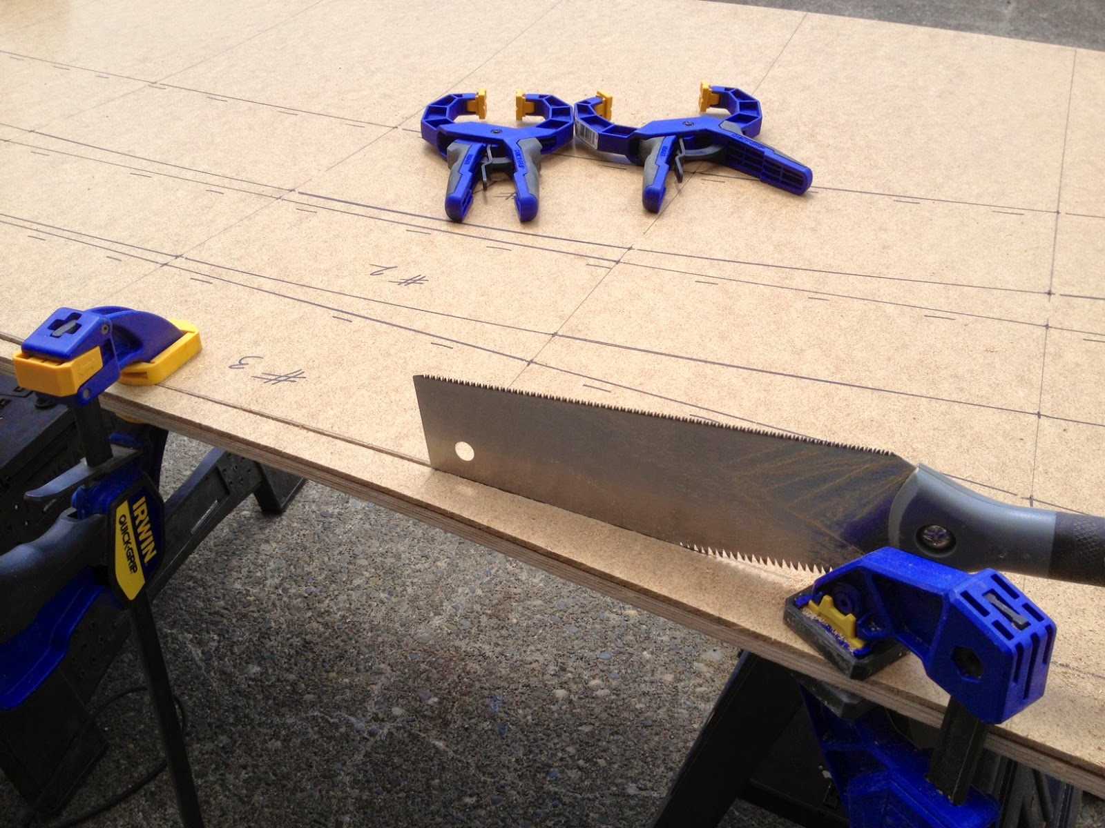 Picture of Cutting Out the Parts...