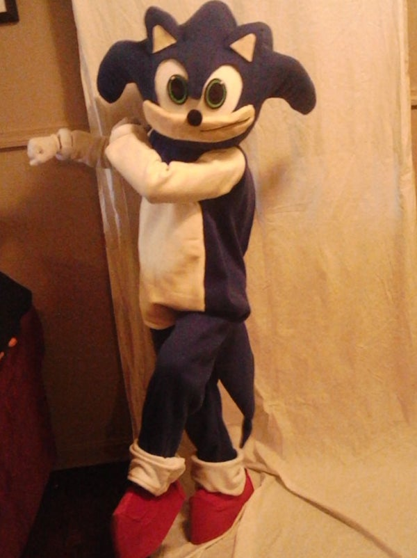 Sonic the Hedgehog Mascot Costume