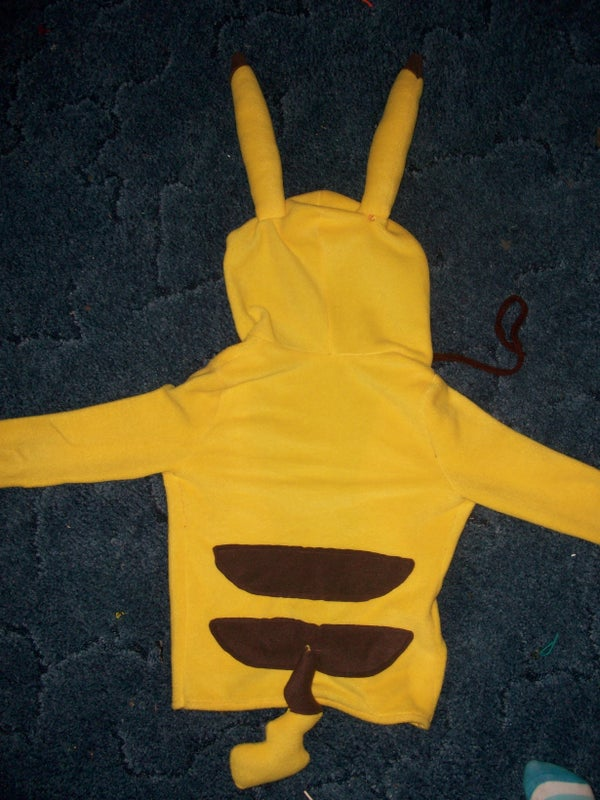 Handmade Pikachu Pokemon Jacket