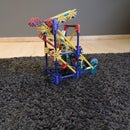 Knex Ball Machine Element: Double Gravity