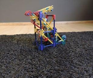 Knex Ball Machine Element: Double Gravity