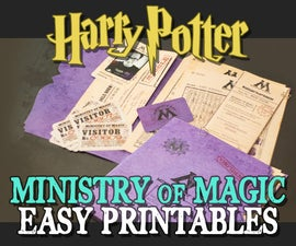 Ministry of Magic Documents and Folder