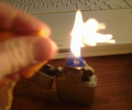 Orange Peel Flamethrower