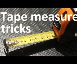 3 tape measure tricks