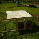simple chicken tractor