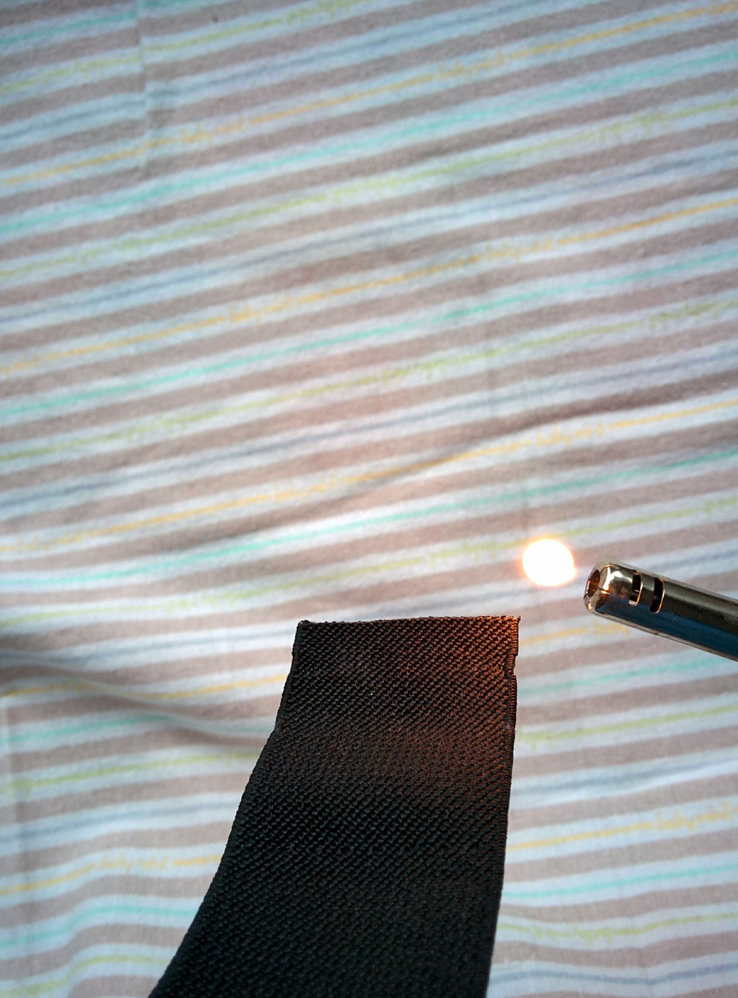 Picture of Burn the End to Prevent Fraying