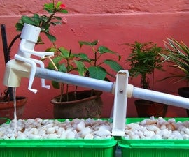 DIY Garden See-Saw Water Feature