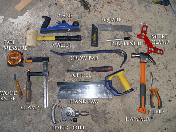 Picture of Step 1. - Tools