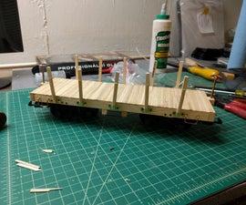 G-Gauge Flat Bed Train Car