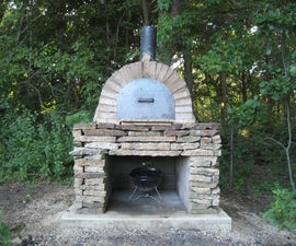 Make pizza with a plasma cutter, a backhoe and a pile of mud!