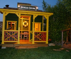 "A ""Jungle Cruise"" Playhouse *updated"