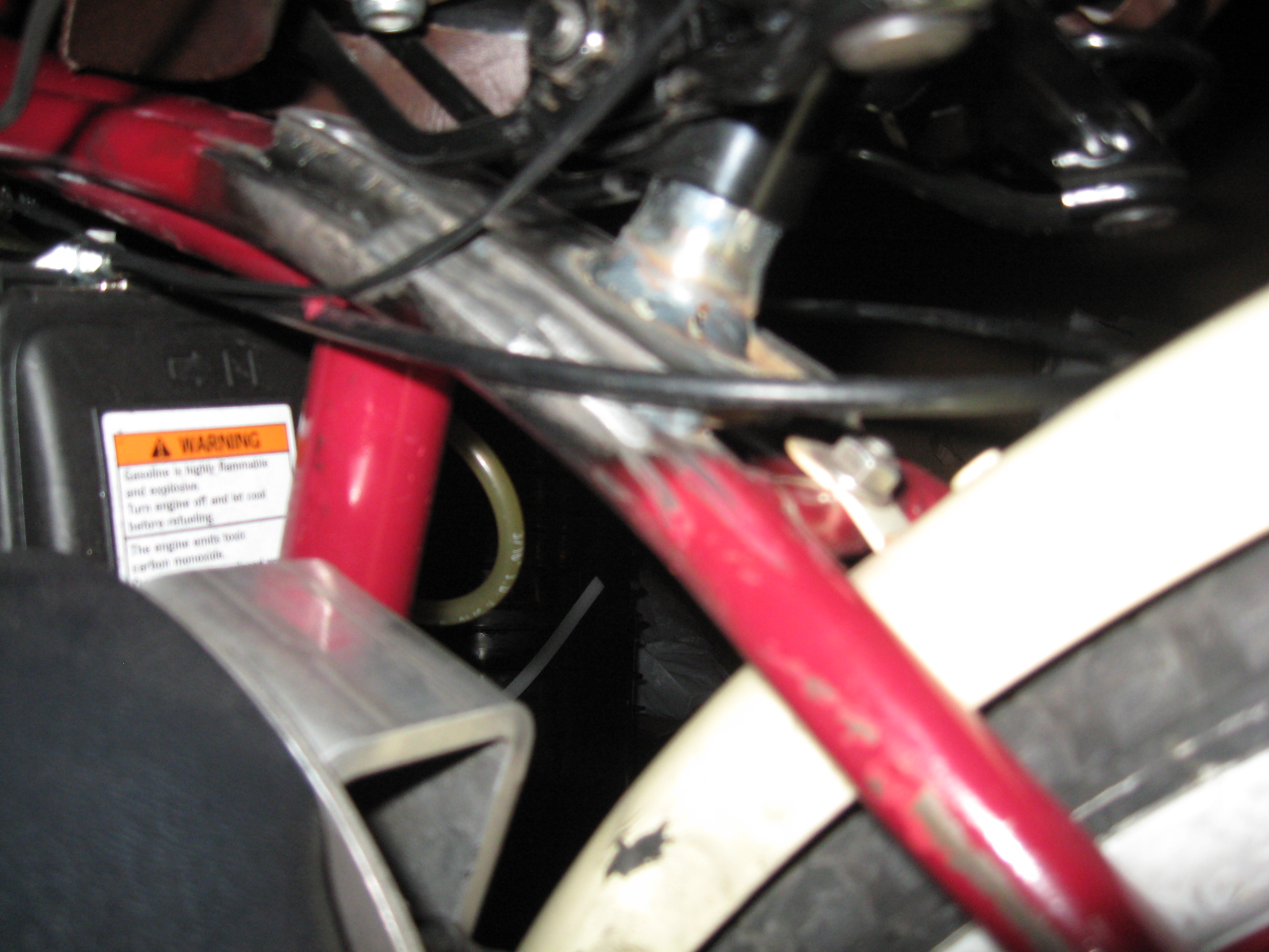 Picture of Layback Seat Modification