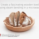 Fascinating Wooden Bowl Using Steam Bending in a Microwave