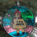 Christmas Robot. 3d Printing and Epoxy Resin