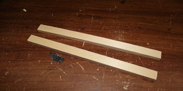 Cutting and Gluing the Side Supports