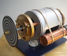 Faux Metal Tesla Turbine