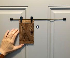 Little Barn Door for Home Security