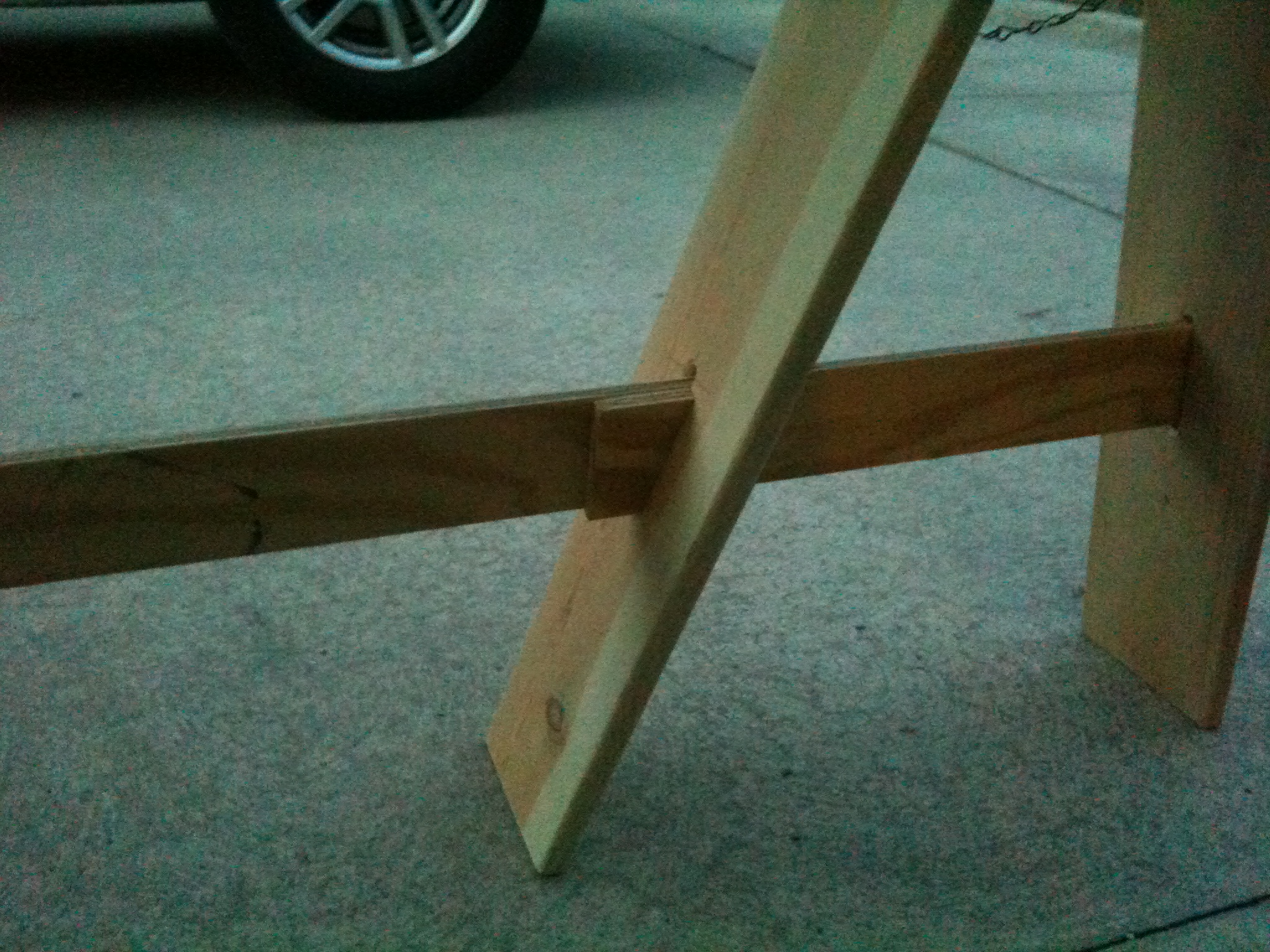 Picture of Folding Sawhorses