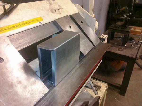 Metal Box Bending Tool Made at Techshop.ws