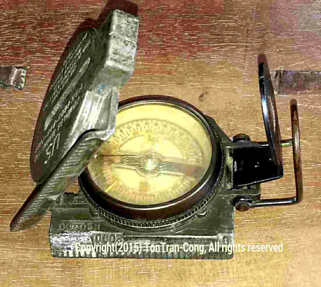 Picture of Determining Local Magnetic Declination by a Magnetic Compass