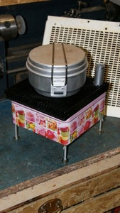 Tent Candle Oven Stove KP