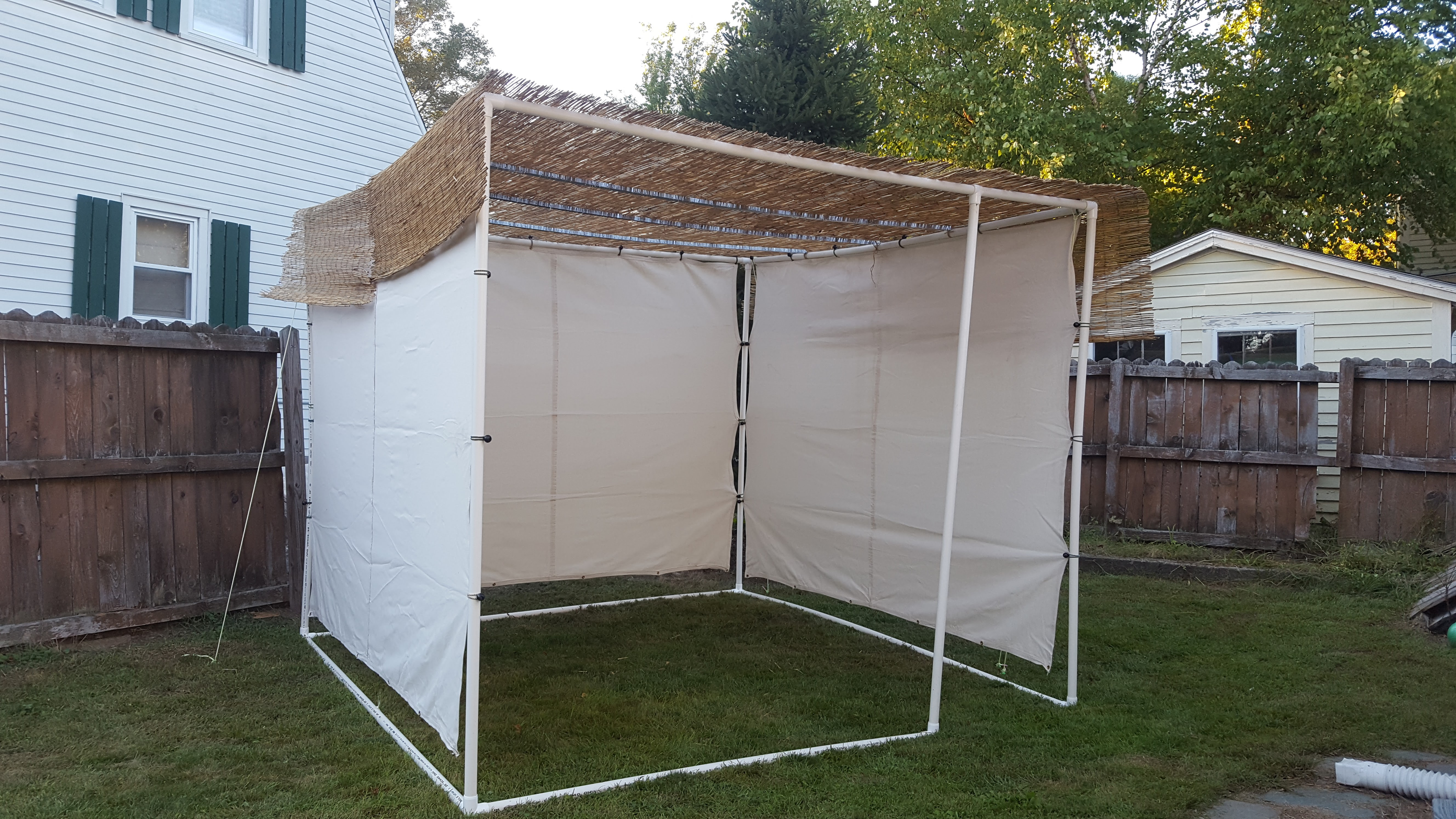 Picture of PVC Sukkah / Symbolic Wilderness Shelter