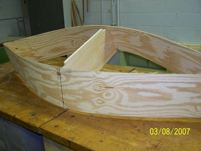Installing the Stem and Stern Posts