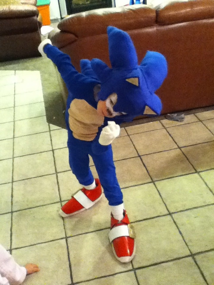 Sonic Costume 8 Steps With Pictures Instructables