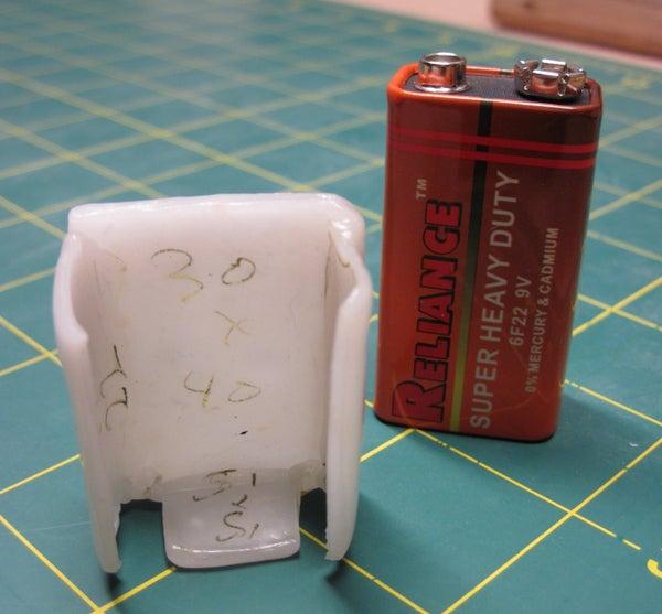 Custom Thermoplastic Battery Holder.