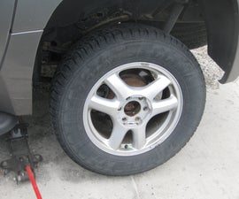 How to Replace The Brakes (Rotors/Pads) On A GMC Envoy With/For Your Dad