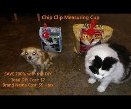Chip Clip Measuring Cup for Pet Food:  - Save 600%