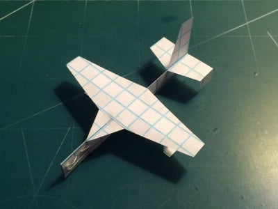 How to Make the Gannet Paper Airplane