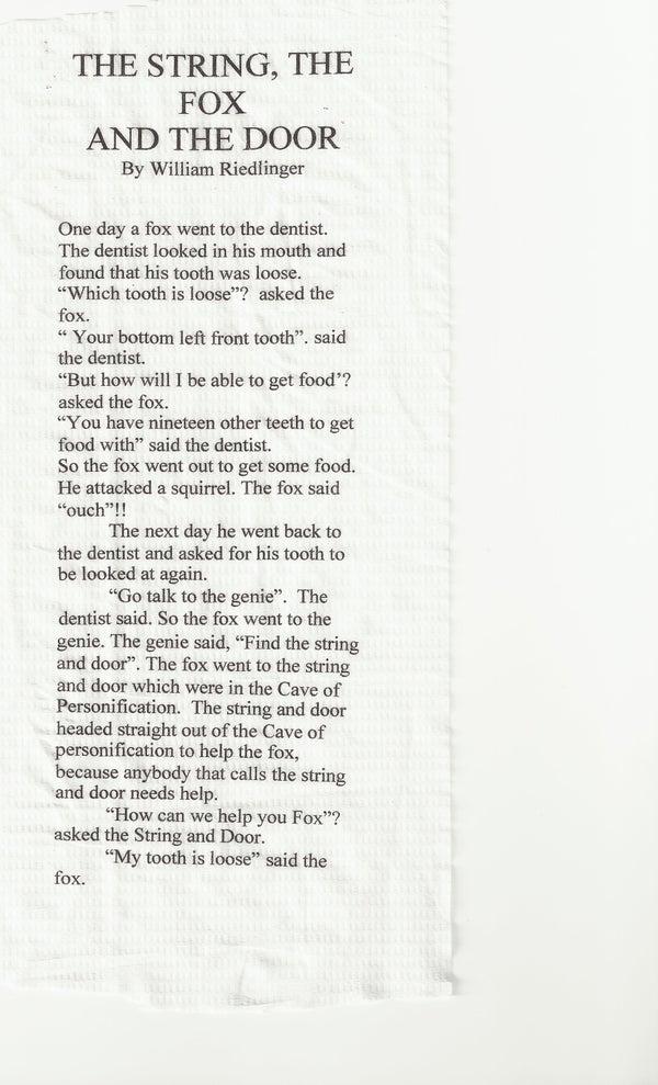 Print on Toilet Paper
