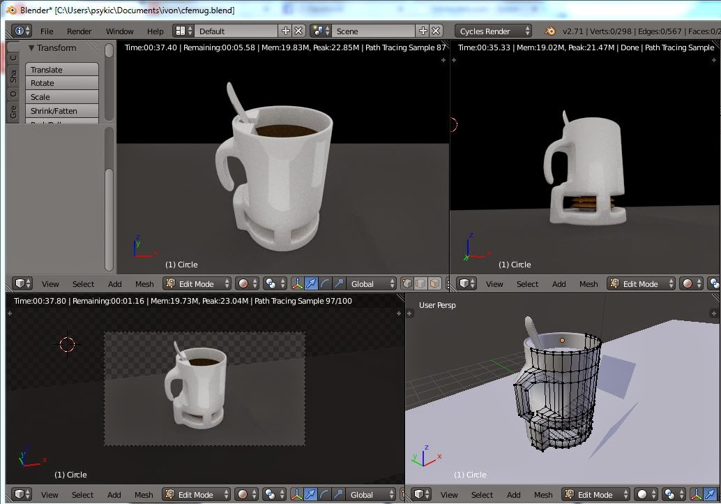 Picture of Working on 3D Modal