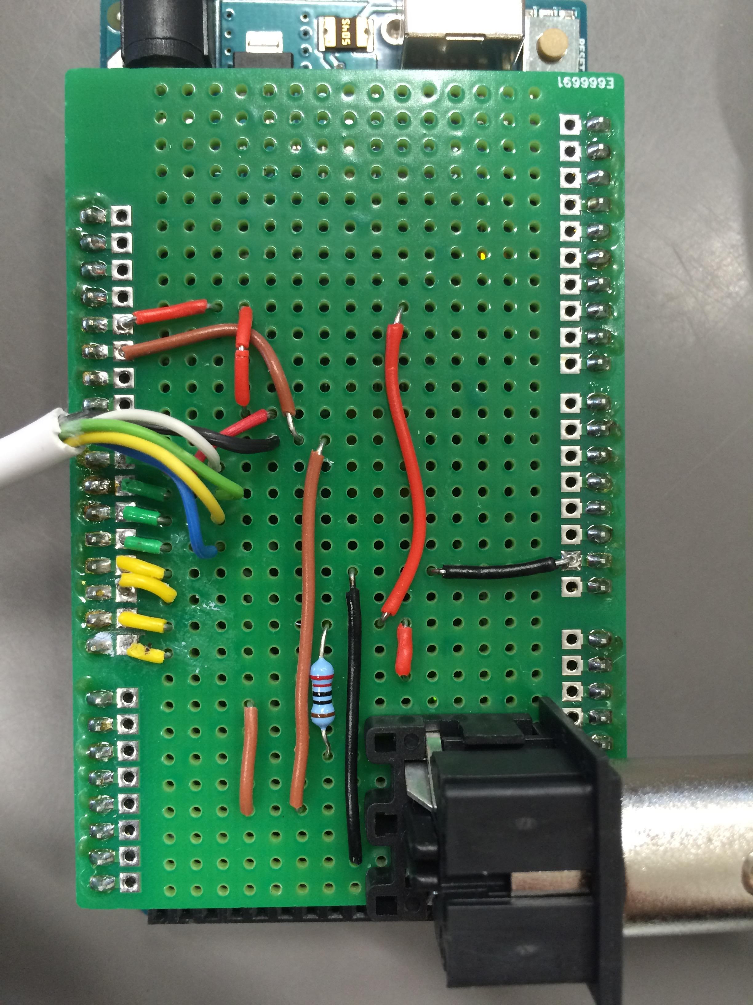Picture of Building the MIDI Shield