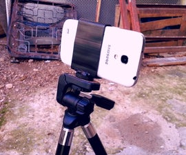 DIY Tripod Phone Holder
